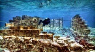 H ελληνική πόλη κάτω από τη θάλασσα της Ελαφόνησου! Μια υποβρύχια πολιτεία που διατηρήθηκε σε άριστη κατάσταση.