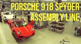 Πως κατασκευάζεται μια Porsche;