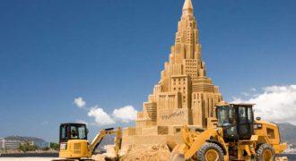 Το ψηλότερο κάστρο του κόσμου στην άμμο (βίντεο)