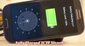 Gadget: Νέες μπαταρίες που φορτίζουν μέσα σε  30 Δευτερόλεπτα!