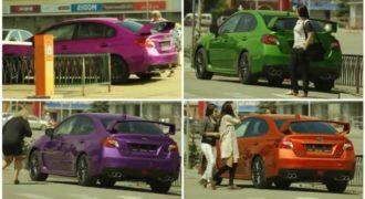 Απίστευτη φάρσα με αυτοκίνητο που αλλάζει χρώμα με τηλεχειριστήριο! (βίντεο)