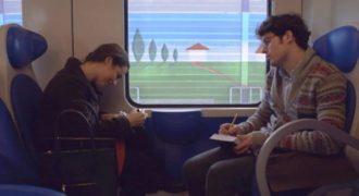Συγκινητικό Βίντεο! Την έβλεπε μέσα στο τρένο κάθε φορά και δεν μπορούσε να της μιλήσει. Μόλις μάθεις το γιατί…