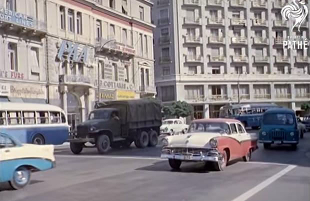 Δείτε την Αθήνα… έγχρωμη το 1961 (Video)