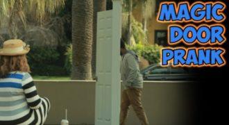 Έστησε μια «μαγική πόρτα» στο πάρκο και τους ξετρέλανε!