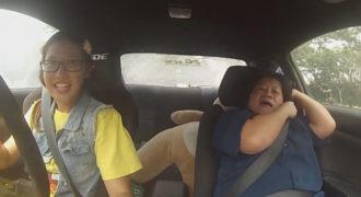 Φάρσα σε δασκάλους οδήγησης από οδηγό αγώνων (video)