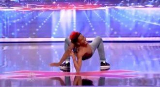 Όταν άρχισε να χορεύει οι κριτές έκλεισαν τα μάτια τους και φρίκαραν με το απίστευτο ταλέντο του!