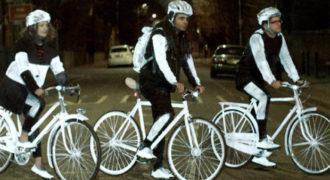 Volvo: Σπρέι για τα ποδήλατα που φωσφορίζει τη νύχτα κάνει θραύση !