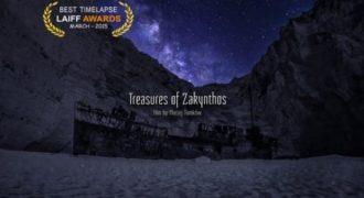 Οι θησαυροί της Ζακύνθου:Το βίντεο «Αγγίζοντας τον Ουρανό πάνω από το Ναυάγιο» ψηφίστηκε ως το καλύτερο Timelapse στο Los Angeles Independent Film Festival