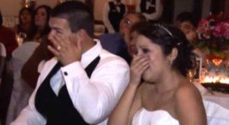 Αρνήθηκε να βγάλει λόγο στο γάμο της κόρης του αλλά έκανε το πιο συγκινητικό πράγμα