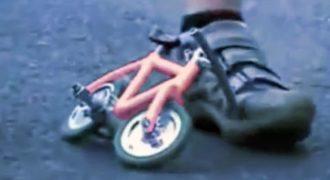 Το μικρότερο ποδήλατο στον κόσμο (ΒΙΝΤΕΟ)