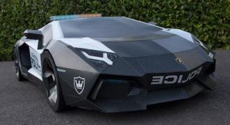 Χάρτινη Lamborghini σχεδόν σε φυσικό μέγεθος Εντυπωσιακό (Βίντεο)