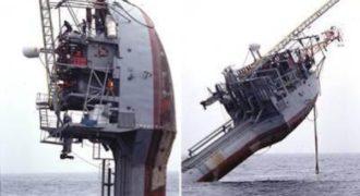 Flip RV: Το μοναδικό πλοίο που γυρνάει κάθετα αλλά δεν βυθίζεται