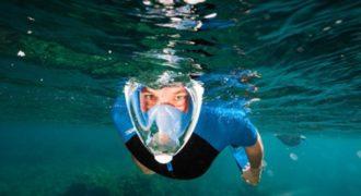 Η επαναστατική μάσκα θαλάσσης που επιτρέπει την αναπνοή σαν ψάρι!