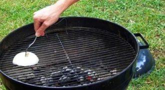 Κάντε την σχάρα σας Αντικολλητική με κρεμμύδι (Βίντεο)
