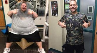 Δείτε τον άντρα που έχασε 180 κιλά σε 700 μέρες!