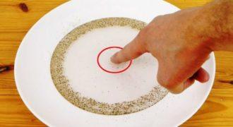 Γνωρίζεται το κόλπο με το νερό και το πιπέρι ; Δείτε το βίντεο και δοκιμάστε το και εσείς!