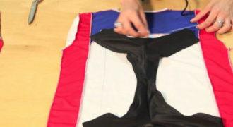 Φτιάξτε μαγιό μπικίνι από ένα κοντομάνικο μπλουζάκι! (Βίντεο)