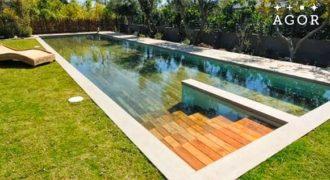 Δεν θα πιστεύετε στα μάτια σας! Δείτε τι παθαίνει αυτή η πισίνα με το πάτημα ενός κουμπιού! [video]