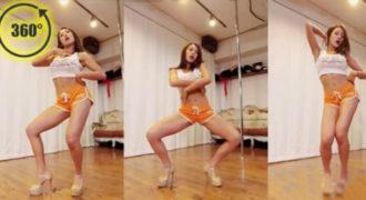 Χορεύτριες από την Ν. Κορέα χορεύουν σε ένα εκπληκτικό βίντεο 360 μοιρών!