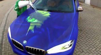 Έριξε ζεστό νερό σε BMW και συμβαίνει το απίστευτο! (Βίντεο)