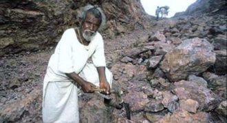 Απίστευτο! Σκάλισε Μονοπάτι μέσα από ένα Βουνό μόνος του, χρησιμοποιώντας μόνο ένα σφυρί και καλέμι (Βίντεο)