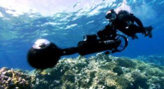 H Google μας πάει με το Street View στο βυθό της Θάλασσας