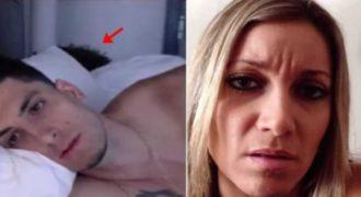 Μίλαγε με την κοπέλα του με βίντεοκλήση ενώ είχε την γκόμενα του στο κρεβάτι! (Βίντεο)