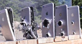 Πόσα iPhone χρειάζονται για να σταματήσουν μια σφαίρα από Καλάσνικοφ;