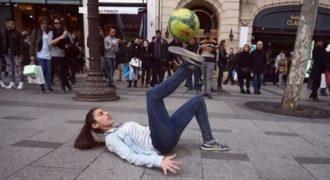 15χρονη με απίστευτες ποδοσφαιρικές ικανότητες… τρέμε ΜΕΣΣΙ! (Βίντεο)