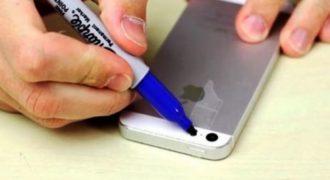 Έβαλε σελοτέιπ στην κάμερα του κινητού του και το έβαψε μπλε. Μόλις δείτε γιατί θα τρέξετε να κάνετε το ίδιο! (VIDEO)