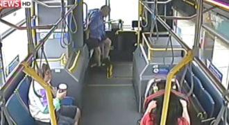 Οδηγός λεωφορείου σώζει την τελευταία στιγμή ένα χαμένο παιδί!