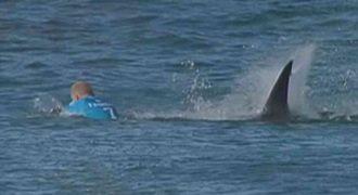 Συγκλονιστικό βίντεο: Καρχαρίας επιτίθεται σε διάσημο σέρφερ την ώρα που διαγωνίζεται (Photo)