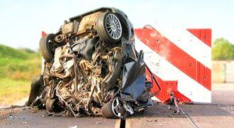ΑΠΙΣΤΕΥΤΟ Crash Test! Δείτε σε αργή κίνηση πως είναι να τρακάρεις με 200χλμ/ώρα.