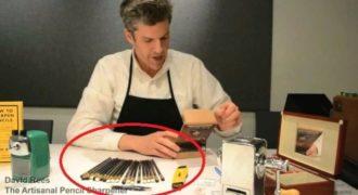 Πλάκα μας κάνει? Ο άνθρωπος αυτός ξύνει μολύβια και ζει από αυτό! (Βίντεο)