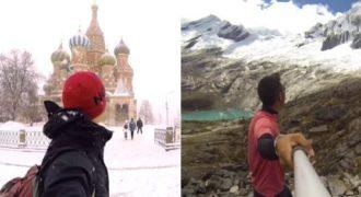 Κόβει την ανάσα το βίντεο που δείχνει 3 χρόνια ταξιδιού αυτού του άντρα σε ολόκληρο τον κόσμο