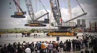Μια γερμανική εταιρεία κατασκευής έκανε ένα κατόρθωμα που θα σας πέσει το σαγόνι. (Βίντεο)