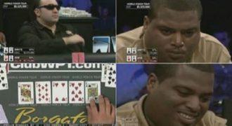 Για αυτό δεν πρέπει να πανηγυρίσεις σε έναν αγώνα πόκερ πριν αυτό τελειώσει! (Βίντεο)