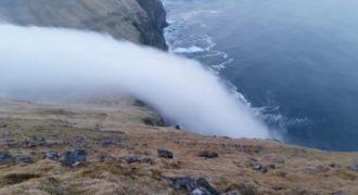 Έναν εντυπωσιακό καταρράκτη φάντασμα κατέγραψε η κάμερα στην Ισλανδία. (Βίντεο)