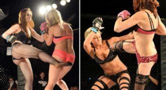 To Πρωτάθλημα πυγμαχίας αποκλειστικά με εσώρουχα κάνει θραύση στην Αμερική.