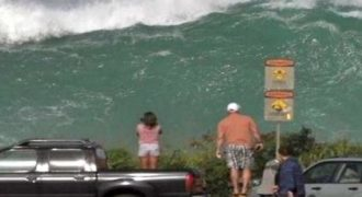 ΘΑ ΣΑΣ ΚΟΠΕΙ Η ΑΝΑΣΑ! Δείτε τι έσκασε στη Χαβάη! [Video]