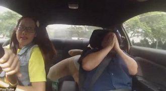 Επαγγελματίας οδηγός προσποιείται την μαθήτρια στους εξεταστές για το δίπλωμα οδήγησης!