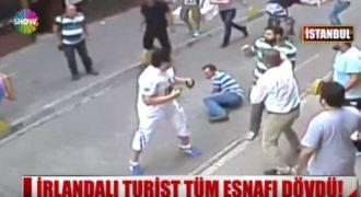 Ιρλανδός τουρίστας ξυλοκόπησε μία ντουζίνα Τούρκους στην Κωνσταντινούπολη! (Βίντεο)