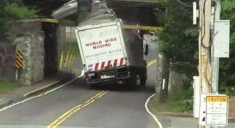 Βίντεο: Δείτε την γέφυρα-γκιλοτίνα (κυριολεκτικά…) για δεκάδες φορτηγά