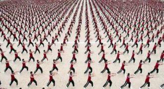 Κίνα : 36.000 μαθητές Κουνγκ Φου σε ένα εντυπωσιακό βίντεο της GENER8ION + Μ.Ι.Α.