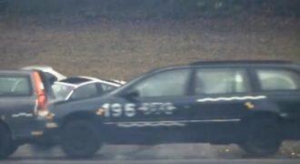 Απίστευτο crash test με 200 χλμ/ώρα!!! (Βίντεο)