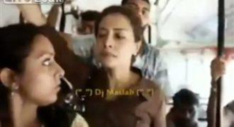 Δείτε την απίστευτη αντίδραση Ινδής σε σεχouαλiκή παρενόχληση σε λεωφορείο (Βίντεο)