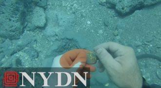 Δύτης βρήκε αμύθητο θησαυρό ενώ εξερευνούσε ναυάγιο στην Φλόριντα