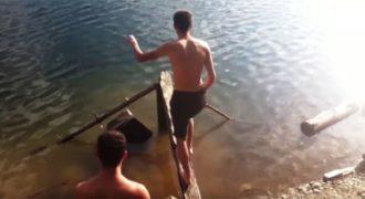 Απίθανα Fails: Όταν η βαρύτητα εκδικείται (Video)