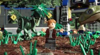 Μια μικρού μήκους ταινία Jurassic World με χαρακτήρες από τα παιχνίδια Lego! (Βίντεο)