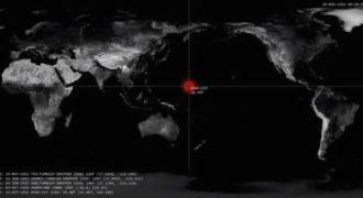 Ανατριχιαστικό βίντεο: Κάθε πυρηνική έκρηξη από το 1945 μέχρι σήμερα